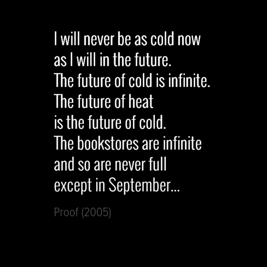iwillneverbeascoldnow0aasiwillinthefuture0athefutureofcoldisinfinite0athefutureofheat0aisthefutureof-default