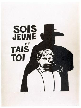 Les Affiches de mai 68 ou l'Imagination graphique : [exposition,