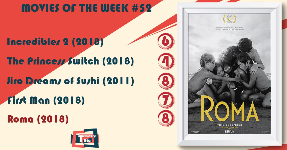 Movies of the Week #52 (2018) – tributarystu